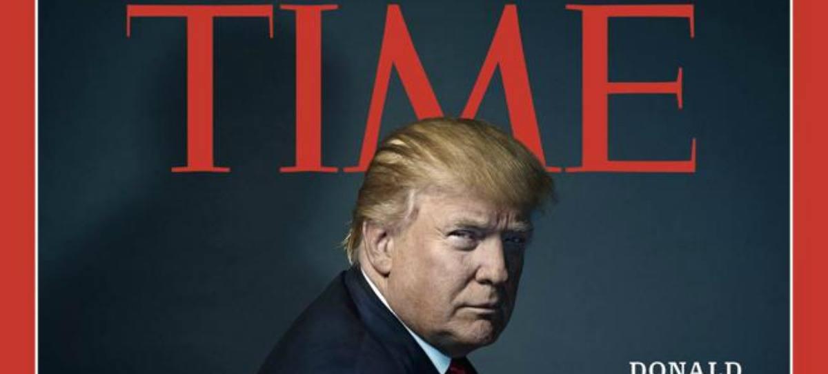 Donald Trump, persona del año por la revista Time