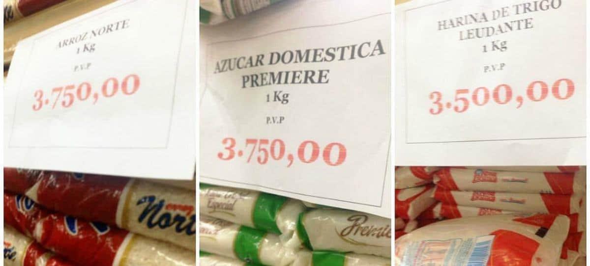 Venezuela: un kilo de arroz cuesta 352 euros