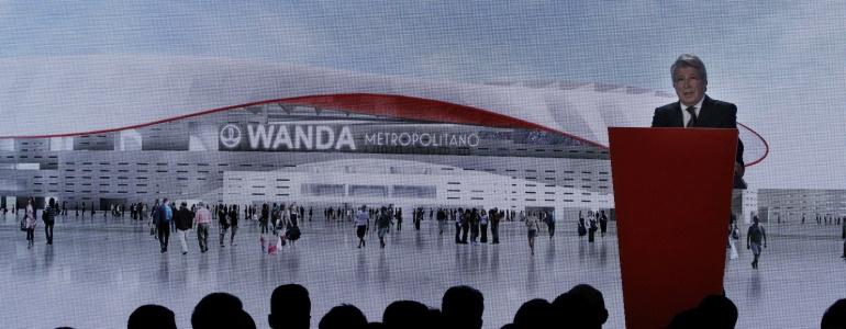 El nuevo estadio del Atleti se llamará Wanda-Metropolitano