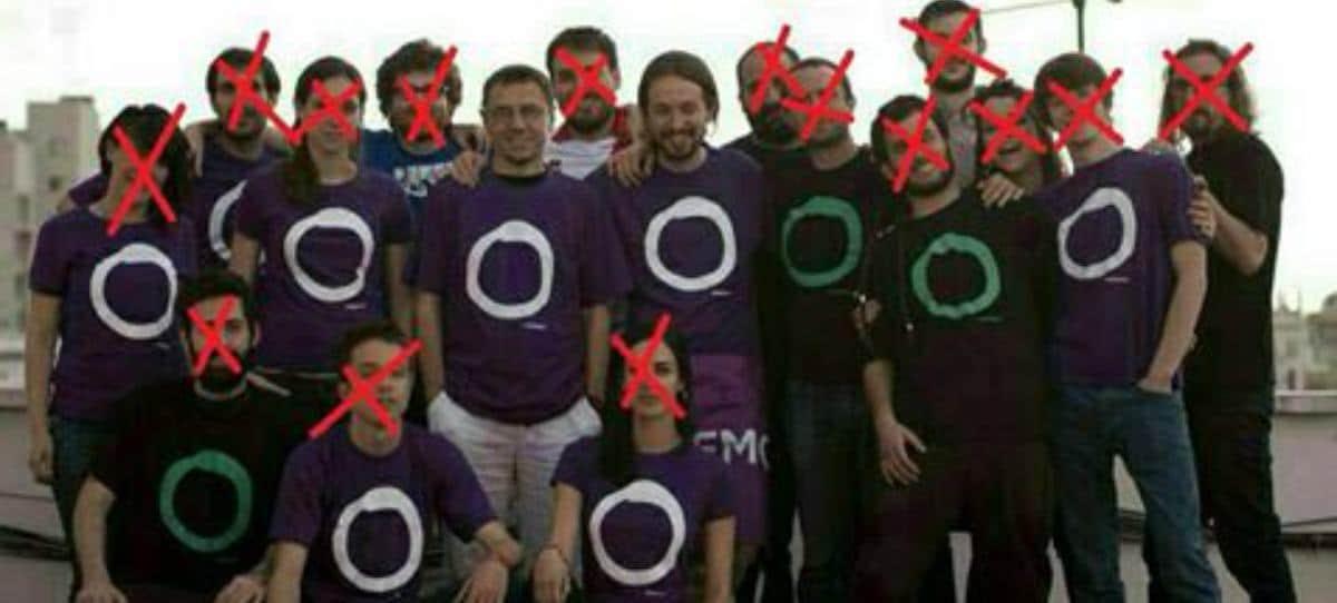 La foto que evidencia la vieja política de Pablo Iglesias en Podemos