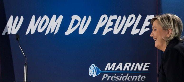 Marine Le Pen, la primera líder europea en la Torre Trump tras la victoria republicana