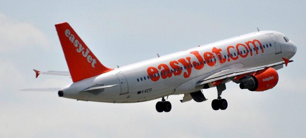 easyJet pone a la venta 70.000 plazas de avión entre 15 y 25 euros