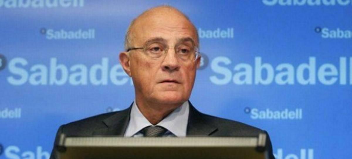 El terror bajista del IBEX 35 roza el 1% del Sabadell en pleno desafío separatista
