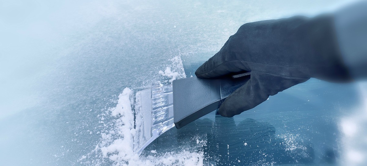 Cómo mantener el parabrisas en plena ola de frío