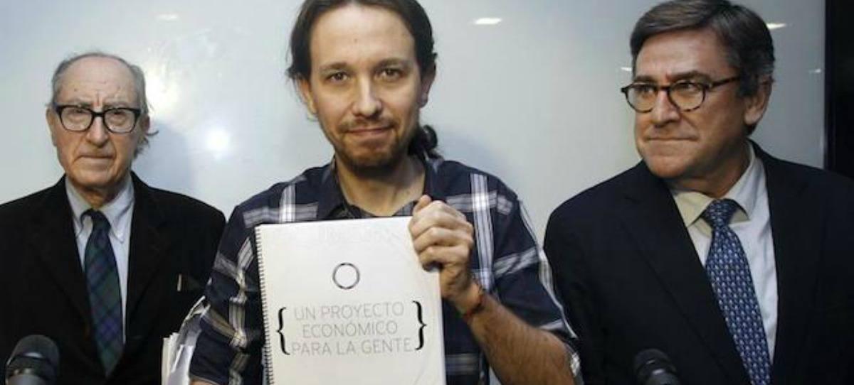 El economista que renegaba de Podemos en 'La Sexta Noche' redactó su borrador económico