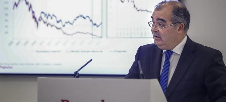 El Popular se desploma un 7,43% en Bolsa tras anunciar pérdidas récord