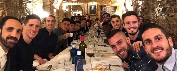 El Atlético se conjura para ganar la Champions