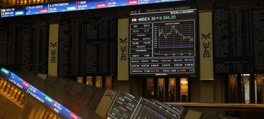 El IBEX 35 se frena ante el 9.500 a la espera de Yellen