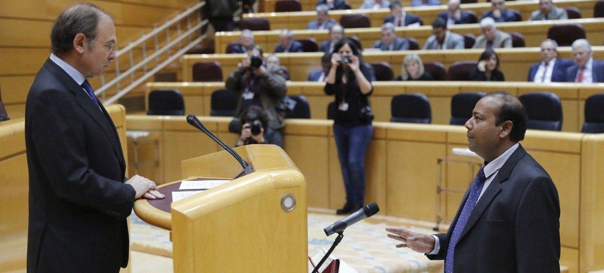 El nuevo senador indio de ERC oculta información en la declaración oficial de bienes