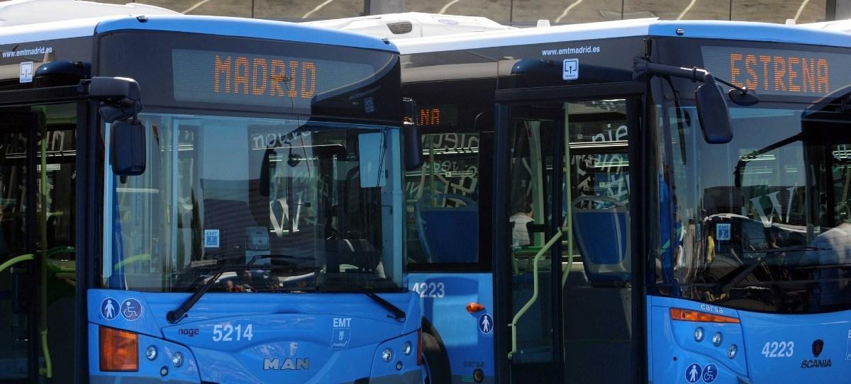 Los autobuses de Madrid estrenan pago con tarjeta y teléfono móvil