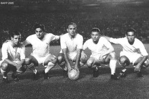 Kopa, Rial, Di Stéfano, Puskas y Gento