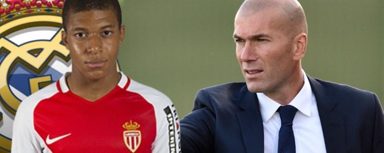 Mbappé se acerca al Real Madrid tras la llamada de Zidane