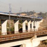 El viaducto de Adif en Valladolid