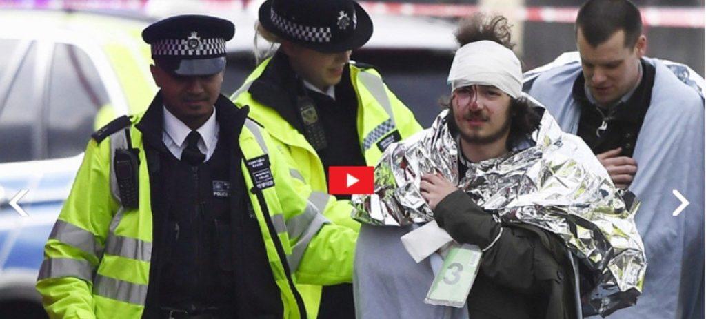 Tres muertos y 20 heridos en el atentado de Londres