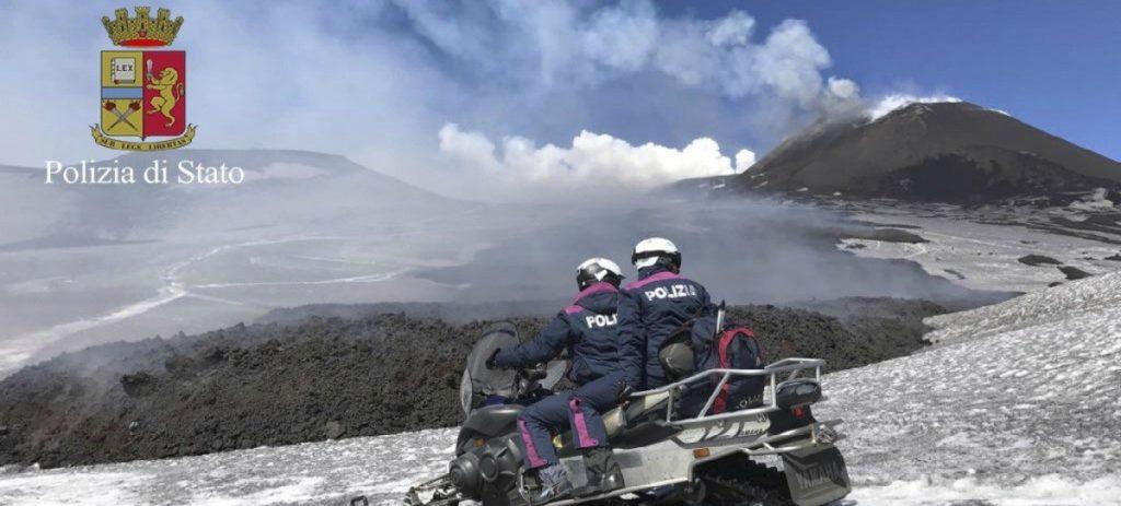 VÍDEO: la erupción del Etna deja heridos a varios turistas y periodistas