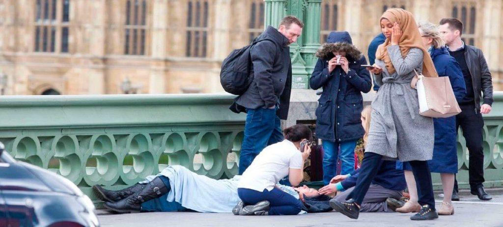 La foto que se ha hecho viral de los atentados de Londres