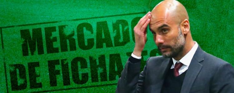 Guardiola ya tiene lista de fichajes para el Manchester City