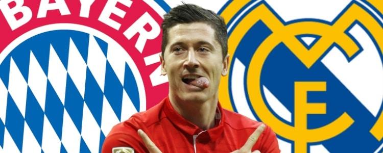 Lewandowski promete venganza al Real Madrid en Champions