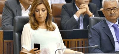 El equipo de Susana Díaz crea cuentas falsas en Twitter de cara a las primarias