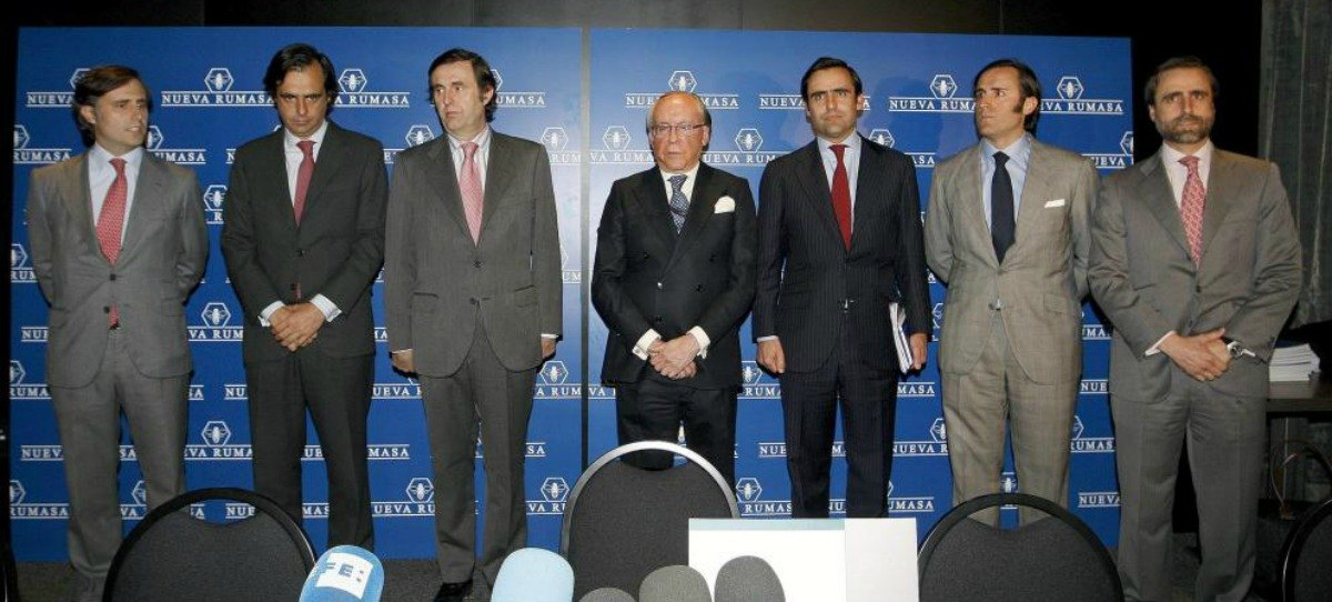 Fianza de 500 millones de euros a 6 hijos de Ruiz-Mateos