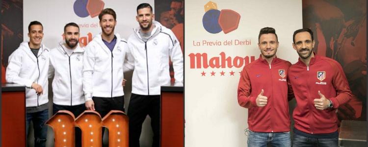 """Mahou activa su contrato con Real Madrid y Atlético Madrid con """"La Previa del Derbi"""""""
