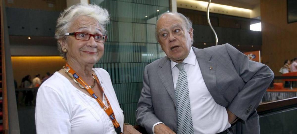 Marta Ferrusola controlaba presuntamente los fondos de los integrantes del clan Pujol