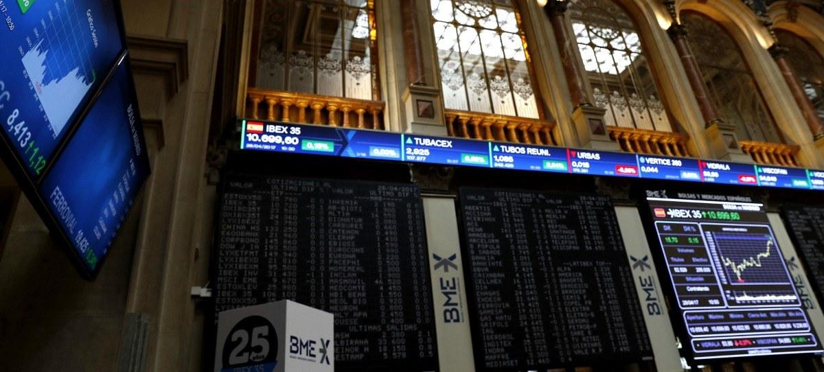 El IBEX 35 avanza en la semana un 3,26%