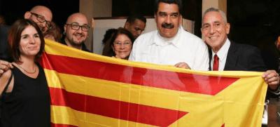 El chavista Maduro apoya el proceso separatista