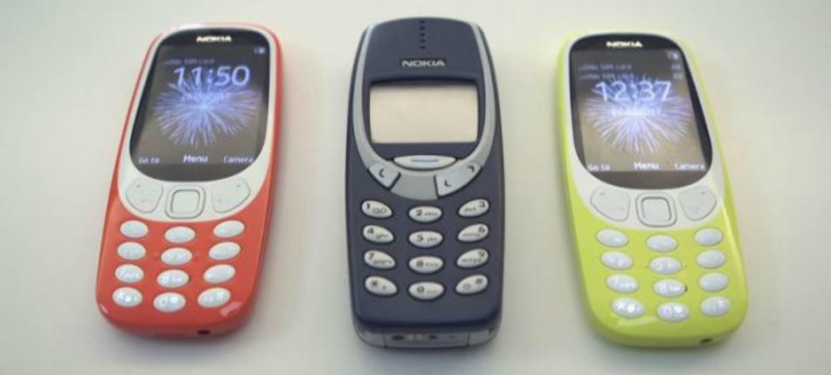 El Nokia 3310 llega a España el 24 de mayo