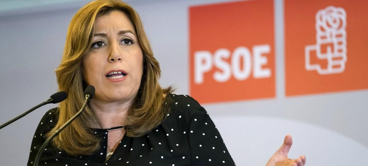 Susana Díaz espera que Chaves y Griñán vuelvan a ser militantes del PSOE