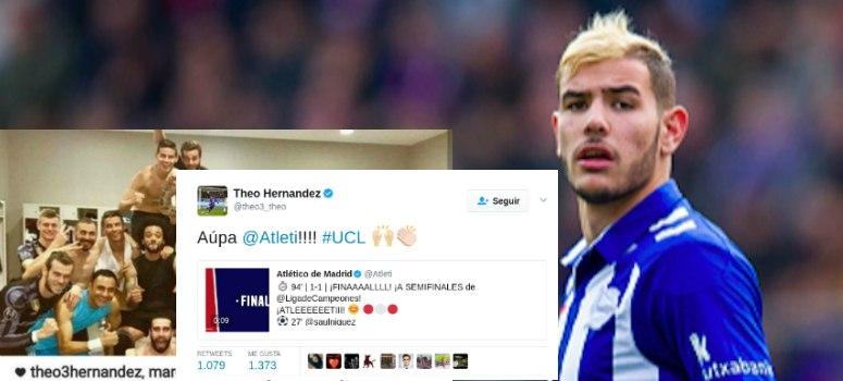 Theo felicita al Atleti por pasar a semifinales de Champions