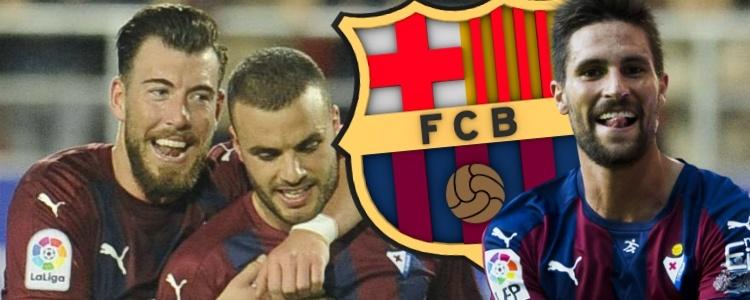 El Eibar no va de paseo al Camp Nou