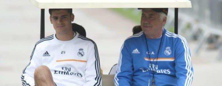 "Ancelotti: ""Benzema es mejor socio para Cristiano que Morata"""