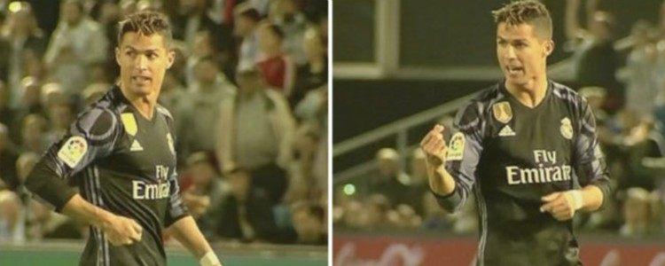Cristiano acusó a los jugadores del Celta de estar primados con maletines