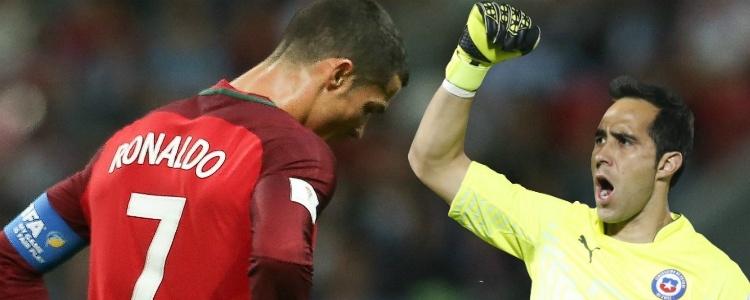 Claudio Bravo evita el sextete de Cristiano Ronaldo