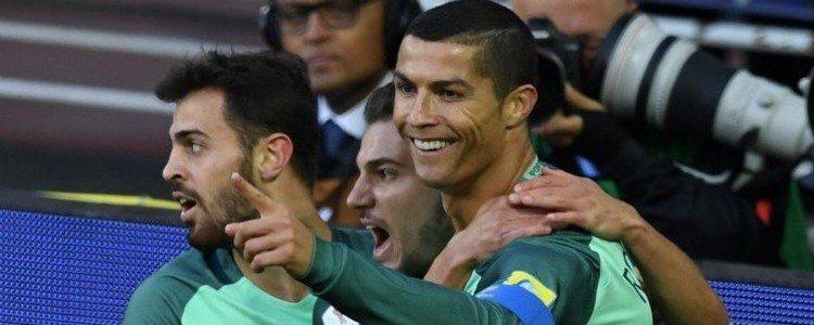 Cristiano Ronaldo alivia su pena con un gol ante Rusia