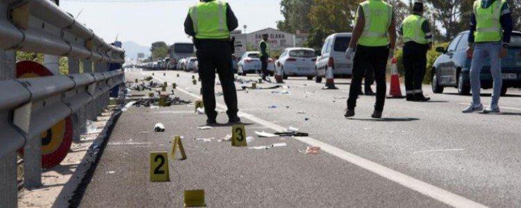 Muere un ciclista atropellado en Oliva por un conductor que da positivo en drogas