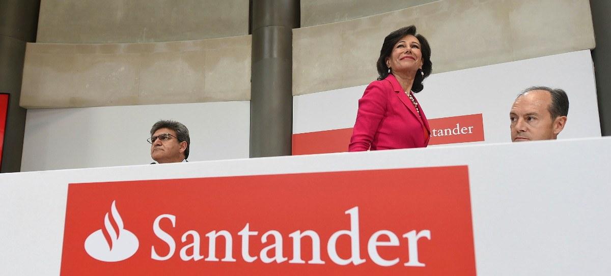 """""""No sería bueno dejar caer a Santander por debajo de 5,30"""""""