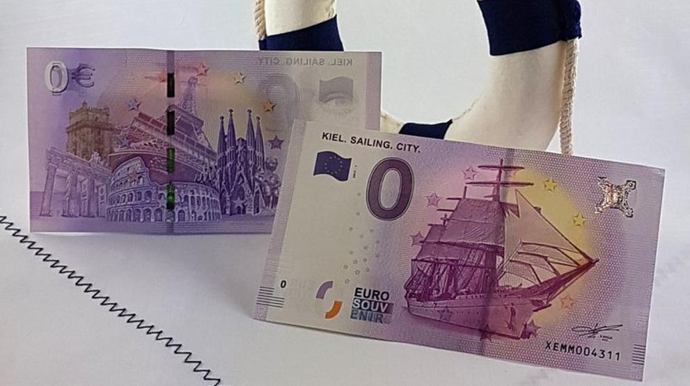 Alemania lanza billetes de cero euros que triunfan y se agotan