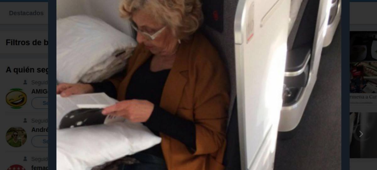 Carmena viaja a Canadá en primera clase con el dinero de los madrileños