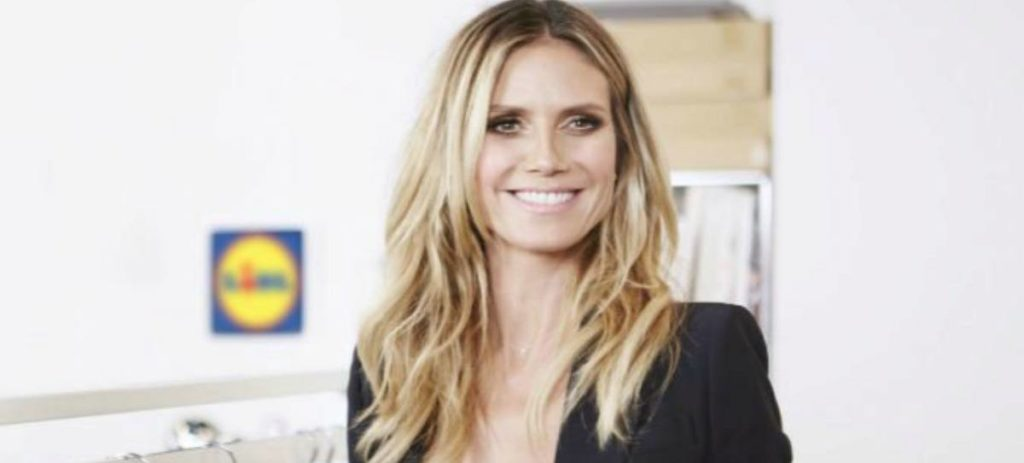 Heidi Klum diseñará ropa para Lidl