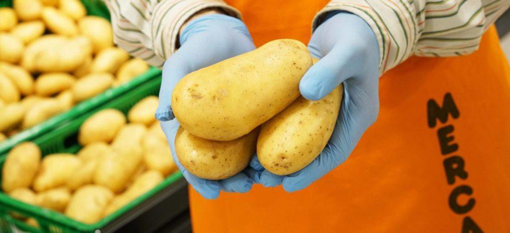 Mercadona prevé comprar 136.000 toneladas de patatas nacionales
