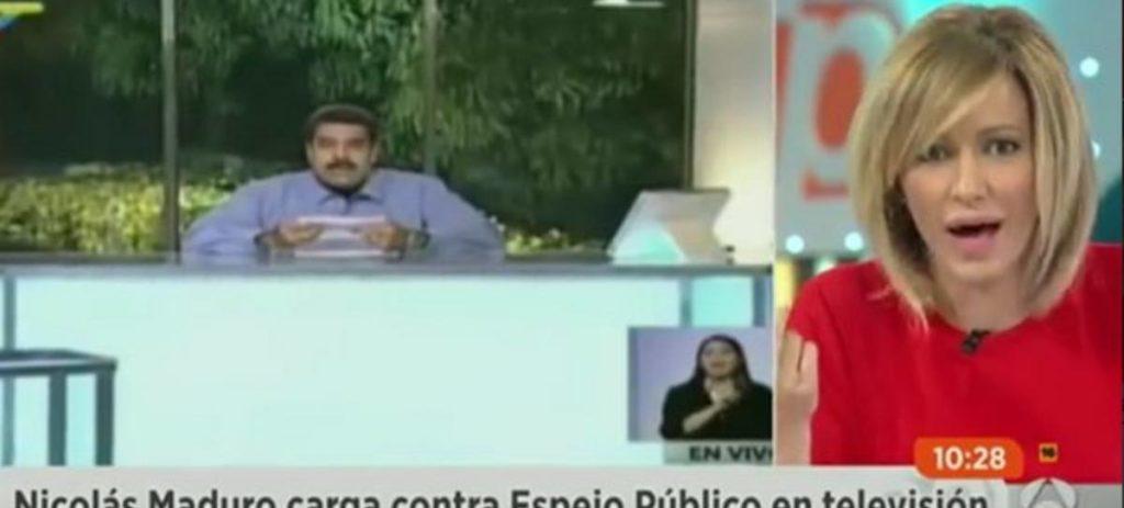 Susana Griso a Maduro: 'Su país no está para gracietas, la historia no le absolverá'