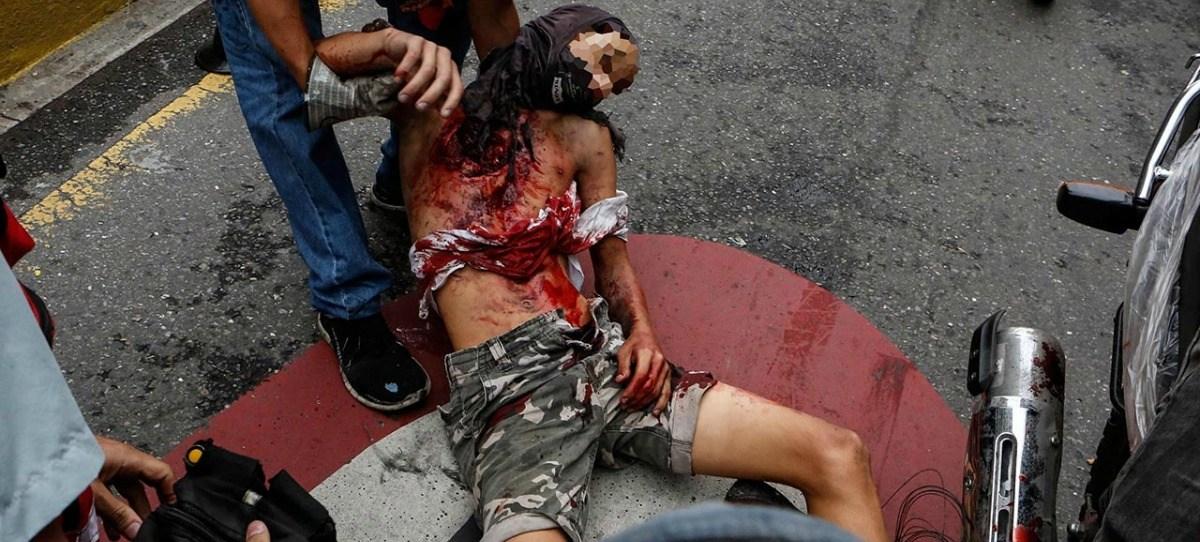 Muere un adolescente de 17 años durante la marcha opositora en Caracas