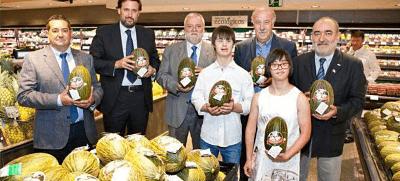 El Corte Inglés apoya a Down España con la venta de un melón solidario