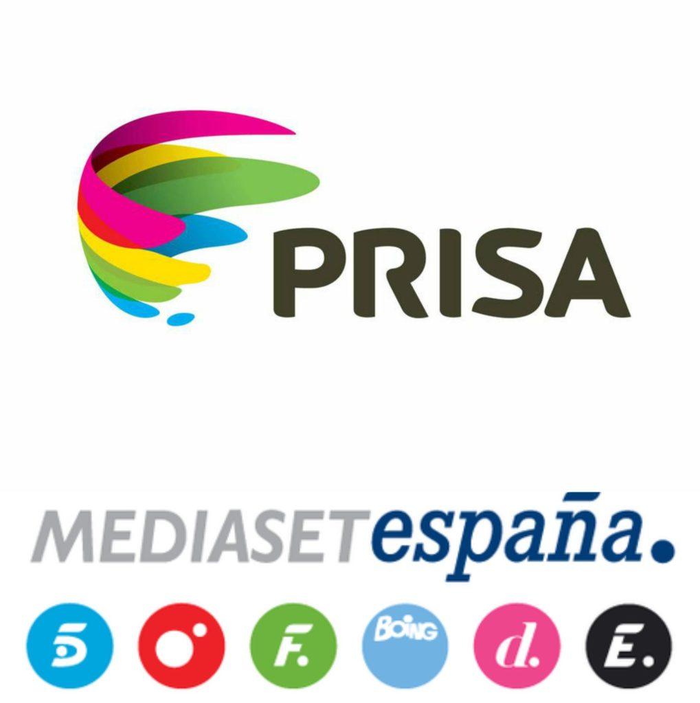Cara y cruz de la semana: Prisa vs Mediaset