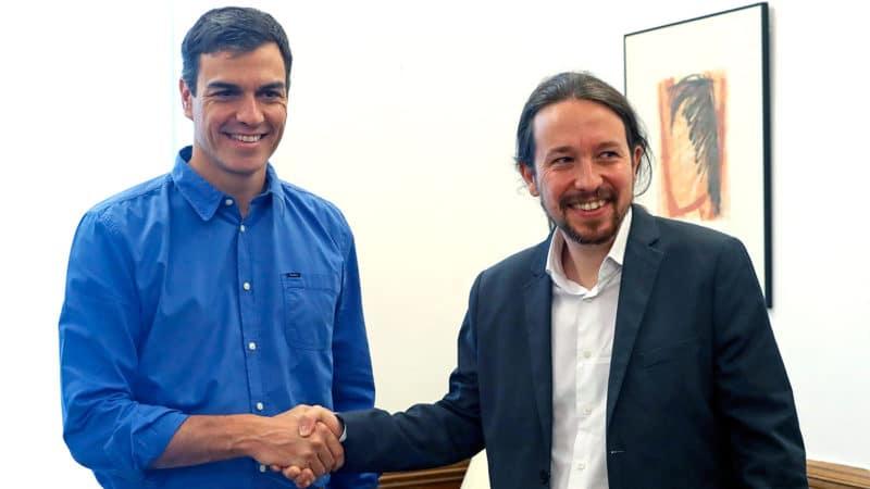 Sánchez cede a las exigencias de Iglesias y piden la comparecencia de Rajoy