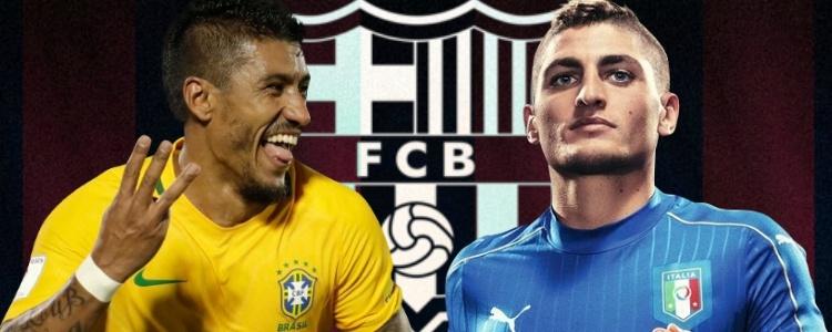 El Barça espera a Verratti y Paulinho