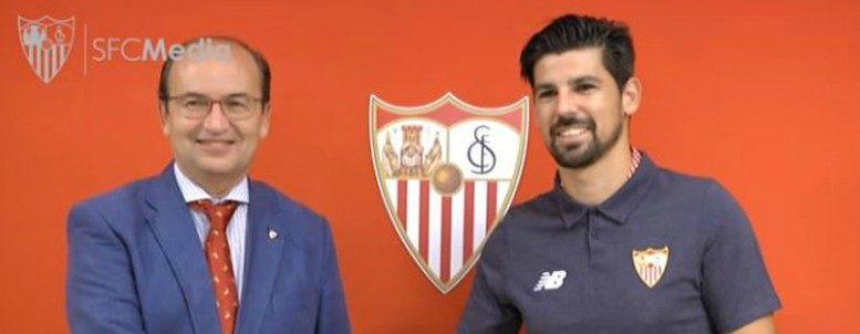 OFICIAL: Nolito firma con el Sevilla y suaviza el palo Vitolo