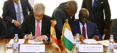 España perdona a Costa de Marfil 60 millones de deuda